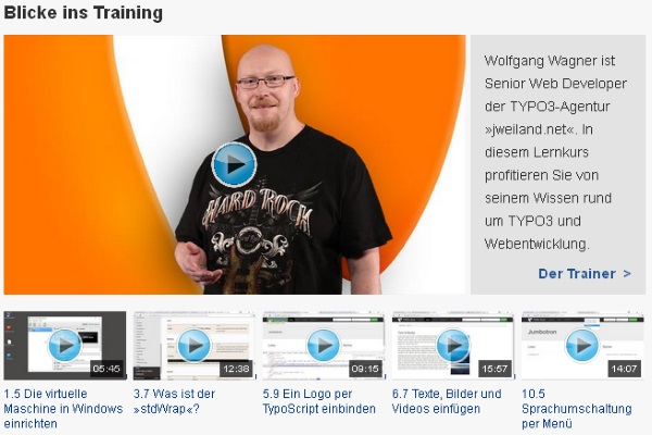 Anleitung Typo3 - Typo3 7LTS Video Tutorial