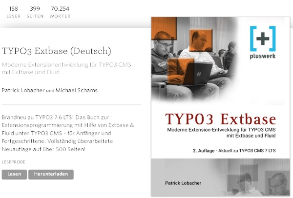 Typo3 Extbase Buch Tutorial