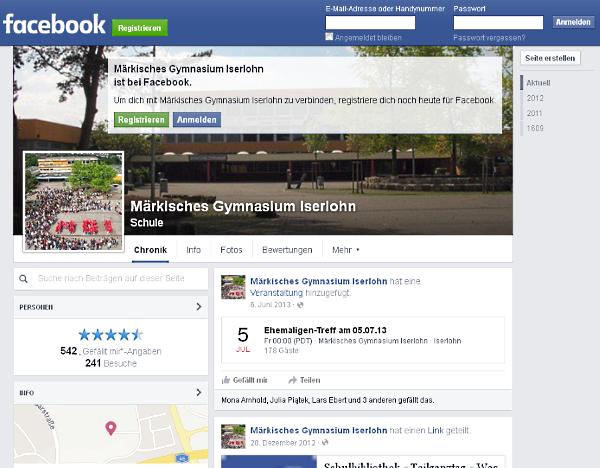 Ehemalige mit Facebook einfach zum Ehemaligen-Treffen einladen