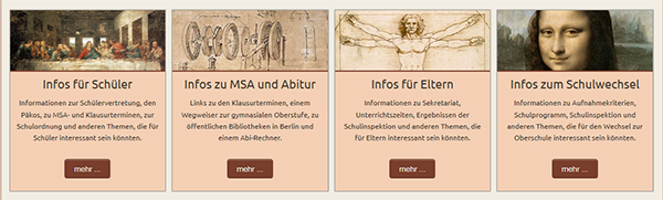 Informationsfluss nach Interessengruppen