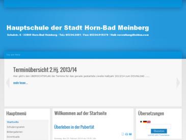 Hauptschule Horn-Bad Meinberg