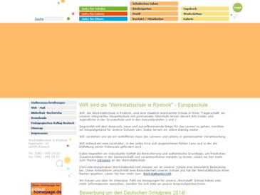 Werkstattschule in Rostock