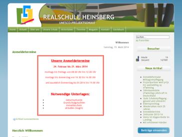 """Städtische Realschule Heinsberg""""Im Klevchen"""""""