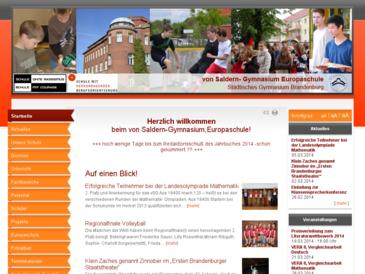von Saldern-Gymnasium, städtisches Gymnasium Brandenburg