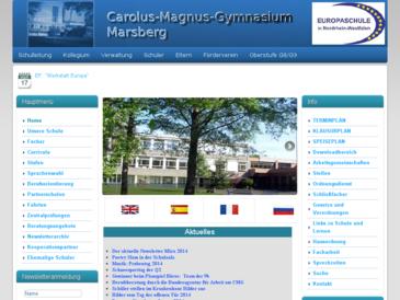 Carolus Magnus Gymnasium  - Städtisches Gymnasium Marsberg
