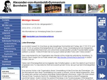 Alexander-von-Humboldt Gymnasium Bornheim