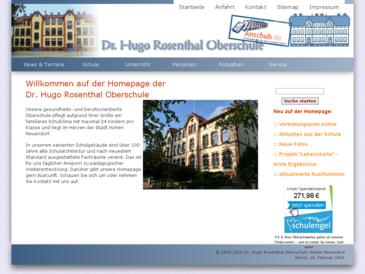 Dr. Hugo Rosenthal Oberschule Hohen Neuendorf
