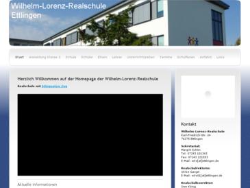 Wilhelm-Lorenz-Realschule Ettlingen