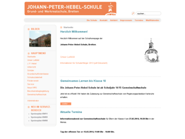 Johann-Peter-Hebelschule GHS mit WRS