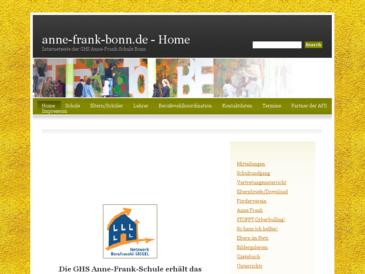 GHS Anne-Frank-Schule Bonn