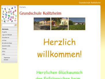Volksschule Kolitzheim - Grundschule