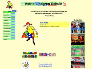Astrid-Lindgren-Schule, Förderschule mit dem Förderschwerpunkt Sprache des Märki