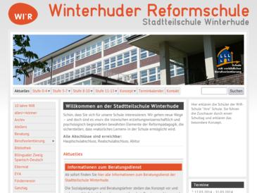 Stadtteilschule Winterhude / Reformschule für Hamburg - selbstverantwortete Schu
