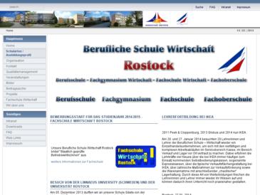 Berufliche Schule der Hansestadt Rostock -Wirtschaft-