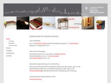 meisterschule f r schreiner m nchen msm. Black Bedroom Furniture Sets. Home Design Ideas