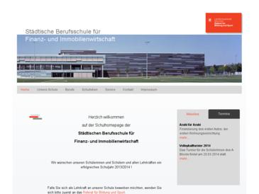 Berufsschule für Finanz- und Immobilienwirtschaft