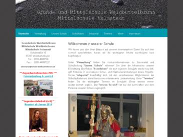 Volksschule Waldbüttelbrunn (Verbandsschule) (G+H)