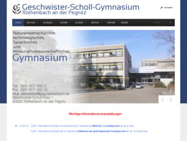 Geschwister-Scholl-Gymnasium Roethenbach