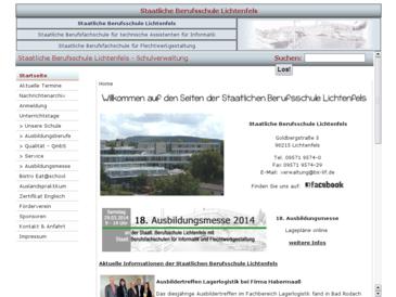 Staatliche Berufsschule Lichtenfels mit Berufsfachschulen