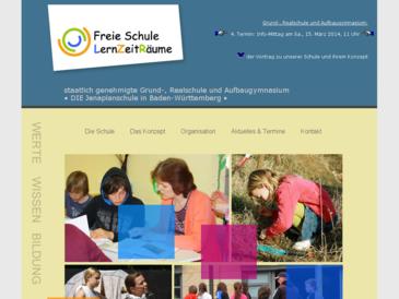 Freie Schule LernZeitRäume (staatlich genehmigte private Grund- und Realschule)