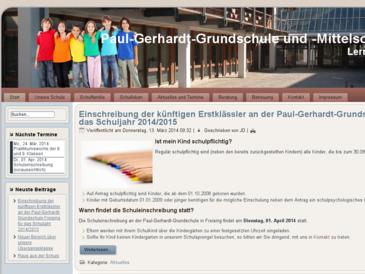 Paul-Gerhardt Schule Freising