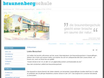 Braunenbergschule Wasseralfingen GHS mit Werkrealschule