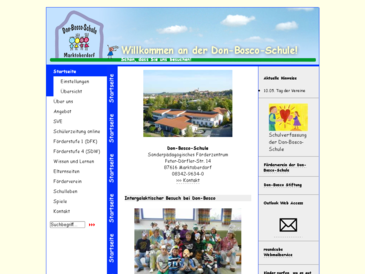 Don-Bosco-Schule Marktoberdorf - Sonderpädagogisches Förderzentrum