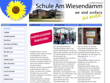 Schule am Wiesendamm, Förderschule Schwerpunkt geistige Entwicklung