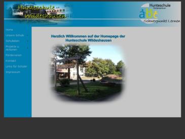 Hunteschule Wildeshausen - Förderschule Schwerpunkt Lernen