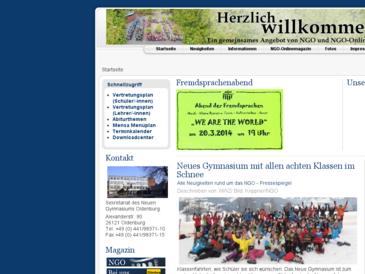 Neues Gymnasium Oldenburg - NGO-Onlinemagazin