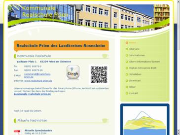 Realschule Prien des Landkreises Rosenheim