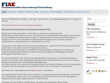 FIAE - Fachinformatiker Anwendungsentwickler