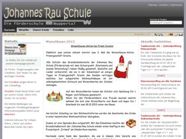 Johannes Rau Schule, Städtische Förderschule - Förderschwerpunkt emotionale und