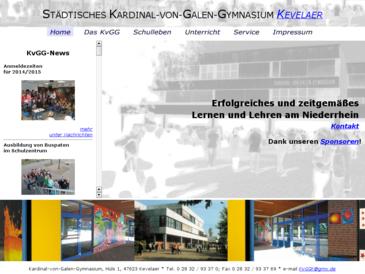 Städtisches Kardinal-von-Galen-Gymnasium Kevelaer