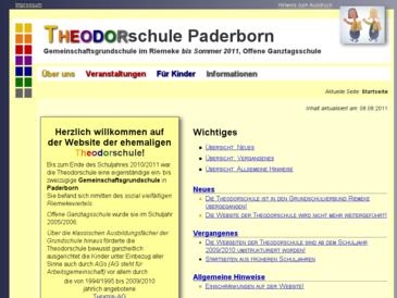 Theodorschule, Gemeinschaftsgrundschule in Paderborn