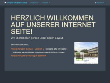 Propst-Grüber-Schule, Projektschule für Berufsorientierung