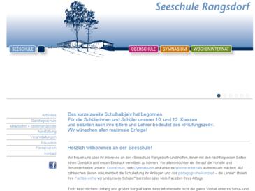 Seeschule Rangsdorf - Ganztagsschule mit Internat in Berlin & Brandenburg