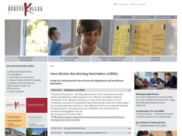 Hans-Böckler-Berufskolleg in Marl und Haltern am See (HBBK)