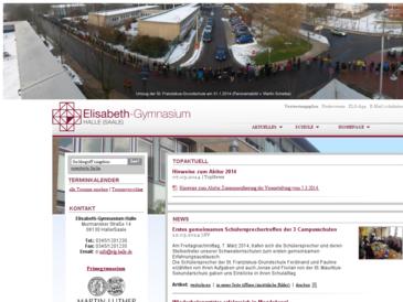 Elisabeth-Gymnasium Halle/Saale