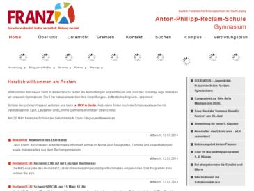 Anton-Philipp-Reclam-Schule, Gymnasium der Stadt Leipzig