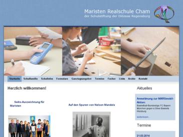 Maristen-Realschule Cham der Schulstiftung der Diözese Regensburg