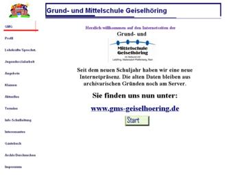 Volksschule Geiselhöring (Grund- und Hauptschule/Mittelschule)