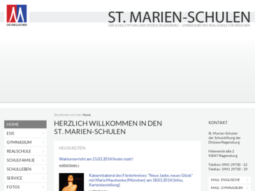 St. Marien-Schulen der Schulstiftung der Diözese Regensburg