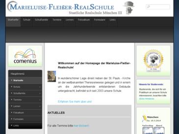 Marieluise-Fließer-Realschule Staatliche Realschule München III
