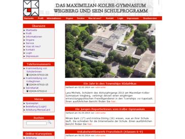 Maximilian-Kolbe-Gymnasium Wegberg: Schulprogramm und Homepage
