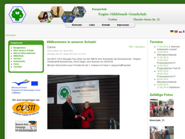Europaschule Regine-Hildebrandt-Grundschule Cottbus
