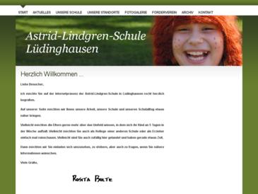 Astrid-Lindgren-Schule, Lüdinghausen: Förderschule des Kreises Coesfeld, Schwerp