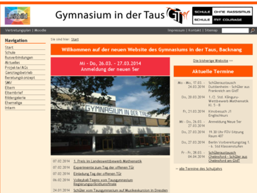 Gymnasium in der Taus Backnang