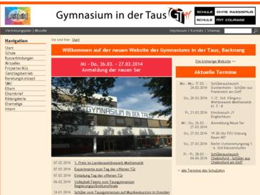 Gymnasium in der Taus Backnang