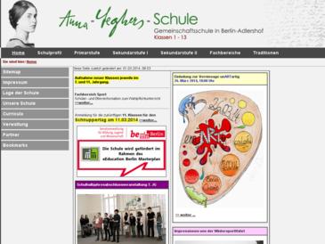 Anna-Seghers-Schule Berlin Adlershof